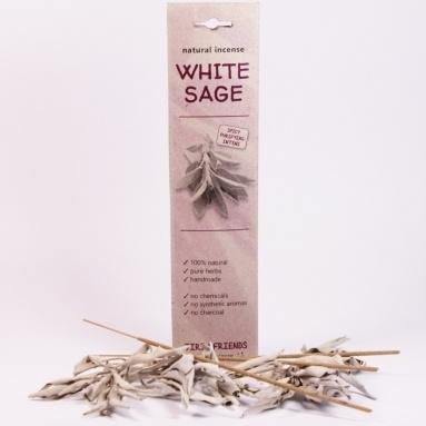 Witte Salie Wierook.White Sage Wierook Salie White Sage Reiniging