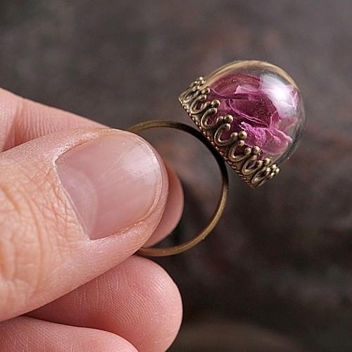 """Ring """"bloemblaadjes"""""""