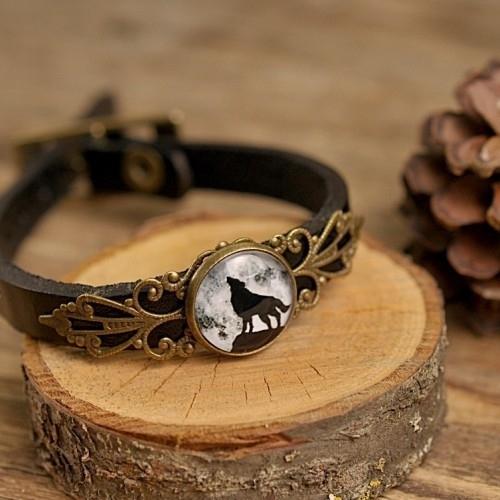 """Wolf"" Armband smal"