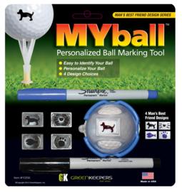 MYBall Marking Tool - Versie Man's Best Friend
