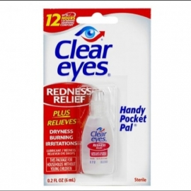 "Clear Eyes Oogdruppels  ""Redness Relief""​"