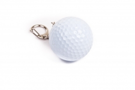 Golfbal Sleutelhanger - I Love Golf