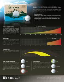 100% Recyclebare Golfbal - Dixon Wind
