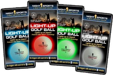 Night Sports Light-up Golfbal