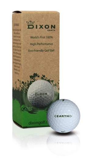 100% Recyclebare Golfbal - Dixon Golfbal