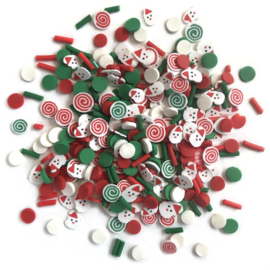 Buttons Galore Sprinkletz Embellishments 12g Saint Nick