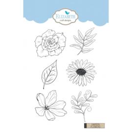 Elizabeth Craft Designs Garden Flowers CS150