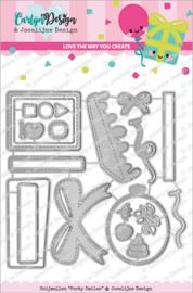 CarlijnDesign Snijmallen Party Smiles (CDJD-0017)