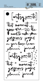Elizabeth Craft Designs Artsy Pants S035 stencil
