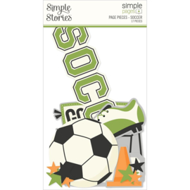 Simple Stories Simple Pages Page Pieces Soccer