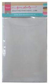 Marianne D Die cutting foam sheet A5 - 2 mm 5st zelfklevend dz LR0023