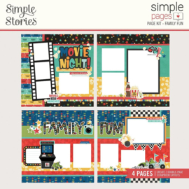 Simple Stories Simple Pages Page Kit Family Fun Preorder