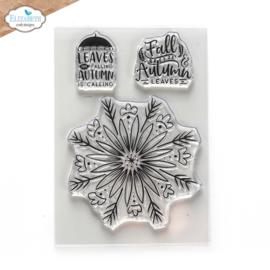 Elizabeth Craft Designs Autumn Leaves CS244