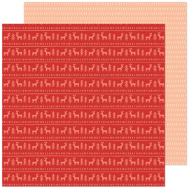 """Crate Paper Busy Sidewalks Double-Sided Cardstock 12""""X12"""" Sweater Weather Preorder"""