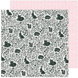 """Maggie Holmes Garden Party Double-Sided Cardstock 12""""X12"""" Garden Friends"""
