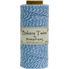 Hemptique Cotton Baker's Twine Spool 2-Ply 410' Blue