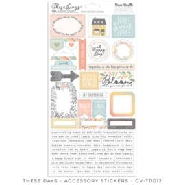 Cocoa Vanilla CV-TD012 THESE DAYS – Accessory Stickers