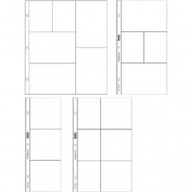 Project Life Photo Pocket Pages 12/Pkg Small Variety Pack 1