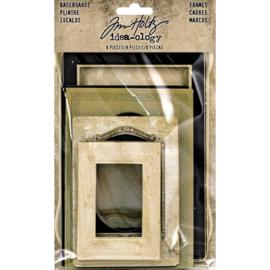 Tim Holtz  Idea-Ology Baseboard Frames 8/Pkg