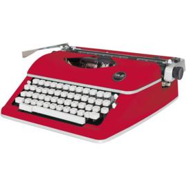 We R Typecast Typewriter Red