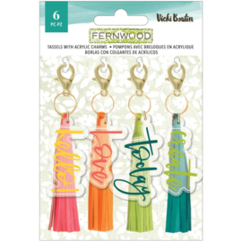 Vicki Boutin Fernwood Tassels 4/Pkg preorder