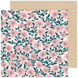 """Paige Evans Bungalow Lane Double-Sided Cardstock 12""""X12"""" #7"""