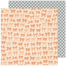 """Maggie Holmes Garden Party Double-Sided Cardstock 12""""X12"""" Beautiful Bows"""