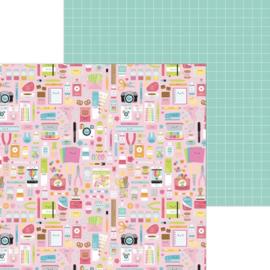 "Dooblebug Cute & Crafty Double-Sided Cardstock 12""X12"" Cute & Crafty preorder"