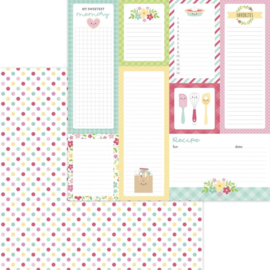 """Dooblebug Made With Love Double-Sided Cardstock 12""""X12"""" Sugar Sprinkles"""