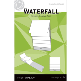 "PhotoPlay Maker Series 4""X6"" Mechanical White Waterfall"