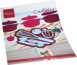 Marianne D Creatable groenten LR0706