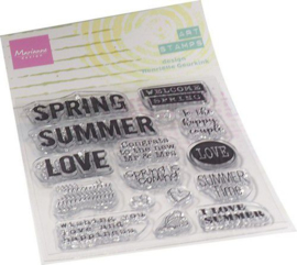 Marianne D Clear Stamps Art stamps - Summertime (ENG) MM1639