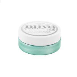 Nuvo embellishment mousse - aquamarine 807N
