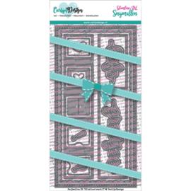 Carlijn Design Snijmallen DL Slimline kaart 3