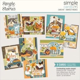 Simple Stories Simple Cards Card Kit Harvest Wishes, Country Harvest preorder