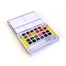 Elizabeth Craft Designs Water Color pan set, 24 colors WC01 preorder