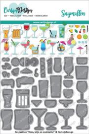 Carlijn Design Snijmallen Bier, wijn en cocktails