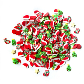 Buttons Galore Sprinkletz Embellishments 12g Yuletide Fun