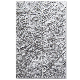 Sizzix - 3-D Textured Impressions Embossing Folder Leaf Veins 664488