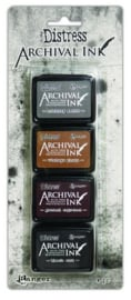 Ranger Distress Archival Mini Ink Kit 3 AITK64848 Tim Holtz