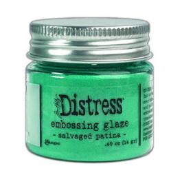 Ranger Distress Embossing Glaze - Salvaged Patina TDE73871 Tim Holtz