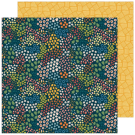 """Paige Evans Bungalow Lane Double-Sided Cardstock 12""""X12"""" #11"""