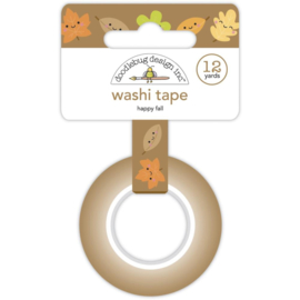 Doodlebug Washi Tape 15mmX12yd Happy Fall preorder