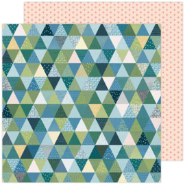 """Paige Evans Bungalow Lane Double-Sided Cardstock 12""""X12"""" #3"""