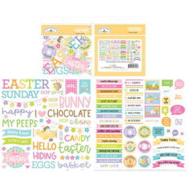 Doodlebug Odds & Ends Chit Chat Die-Cuts Hippity  Preorder