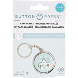 We R Memory Keepers Button Press Keychain Kit Makes 2