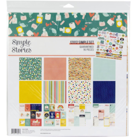 """Simple Stories Collection Kit 12""""X12"""" Quarantined"""