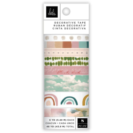 Heidi Swapp Care Free Washi Tape Rolls 8/Pkg 6 Yards Each PREORDER