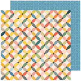"""Paige Evans Bungalow Lane Double-Sided Cardstock 12""""X12"""" #12"""