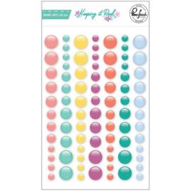 PinkFresh Enamel Dot Stickers Keeping It Real